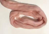 Шерсть для валяния австралийский меринос 23 микрон (10 грамм = 25 см) - пудра. Фелтинг. Вовна