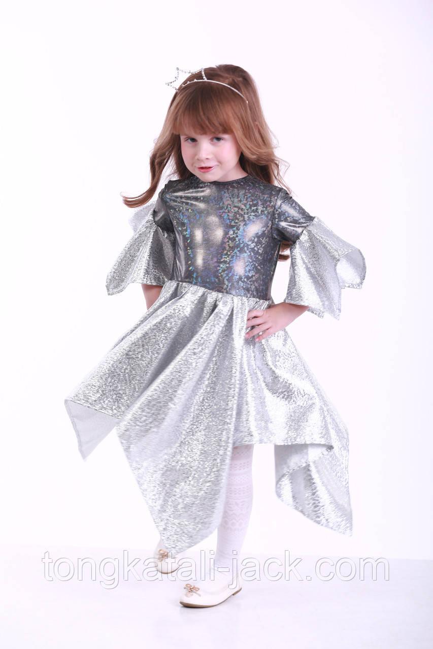 Нарядное платье для девочки размер 98-110 см, прокат карнавальной одежды