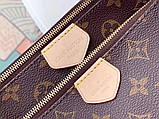 Сумка, клатч Луи Витон Monogram Multi-Pochette, кожаная реплика, фото 7