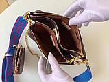 Сумка, клатч Луи Витон Monogram Multi-Pochette, кожаная реплика, фото 8