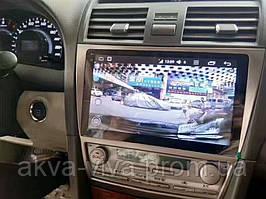 Штатная автомагнитола Toyota Camry 40 2006-2011 с большим экраном 10 дюймов на базе Android