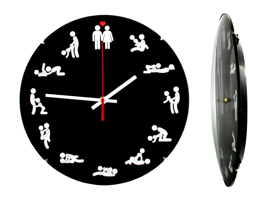 Часы настенные Montre Kamasutra 24х24х4 см Стекло Тихий ход (21660)