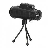 Монокуляр бинокль PANDA 16x52 PRO с ночным видением с креплением прищепкой для телефона и подставкой