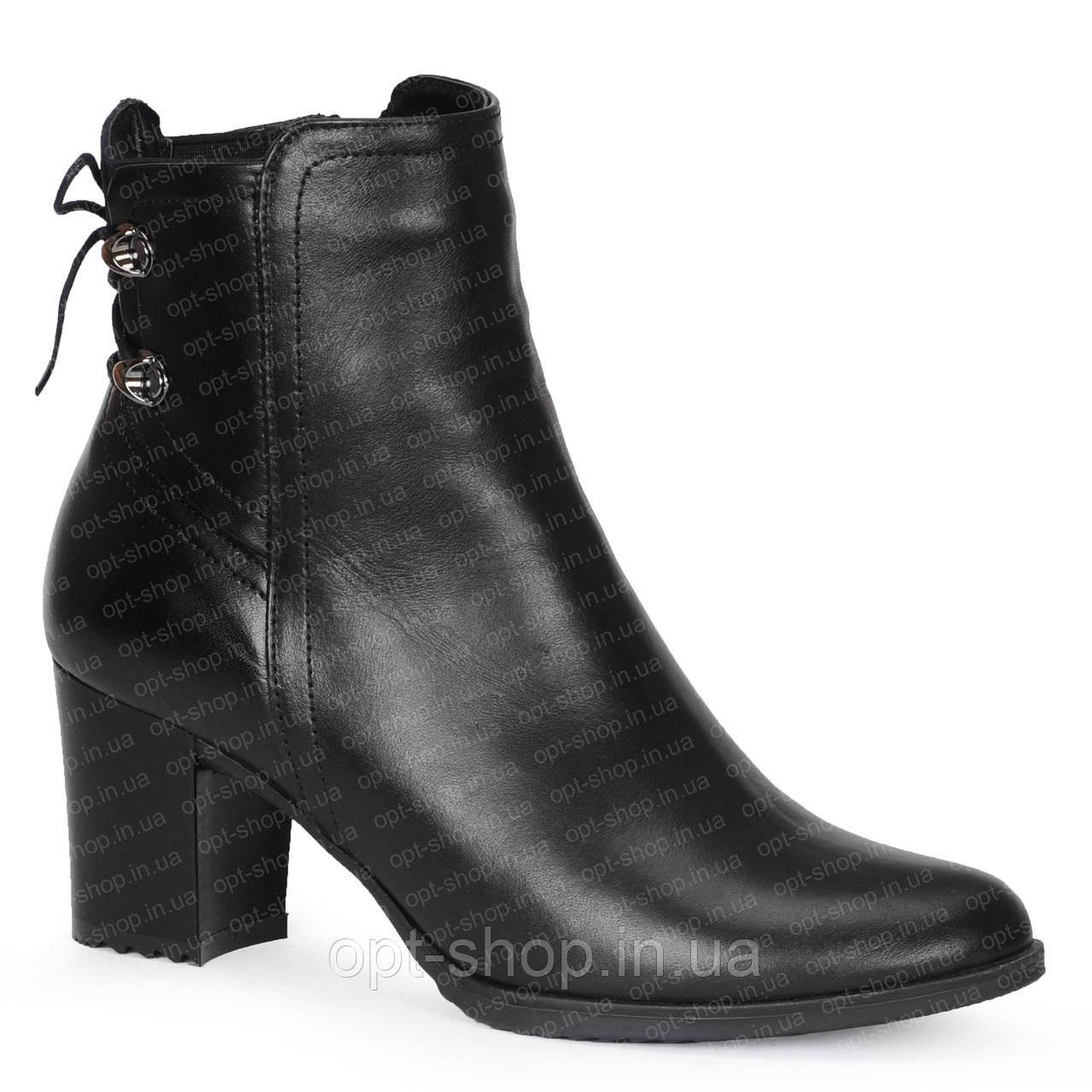 Женские демисезонные осенние полусапожки ботинки ботильоны на каблуке