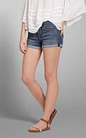 Шорты женские джинсовые Abercrombie & Fitch