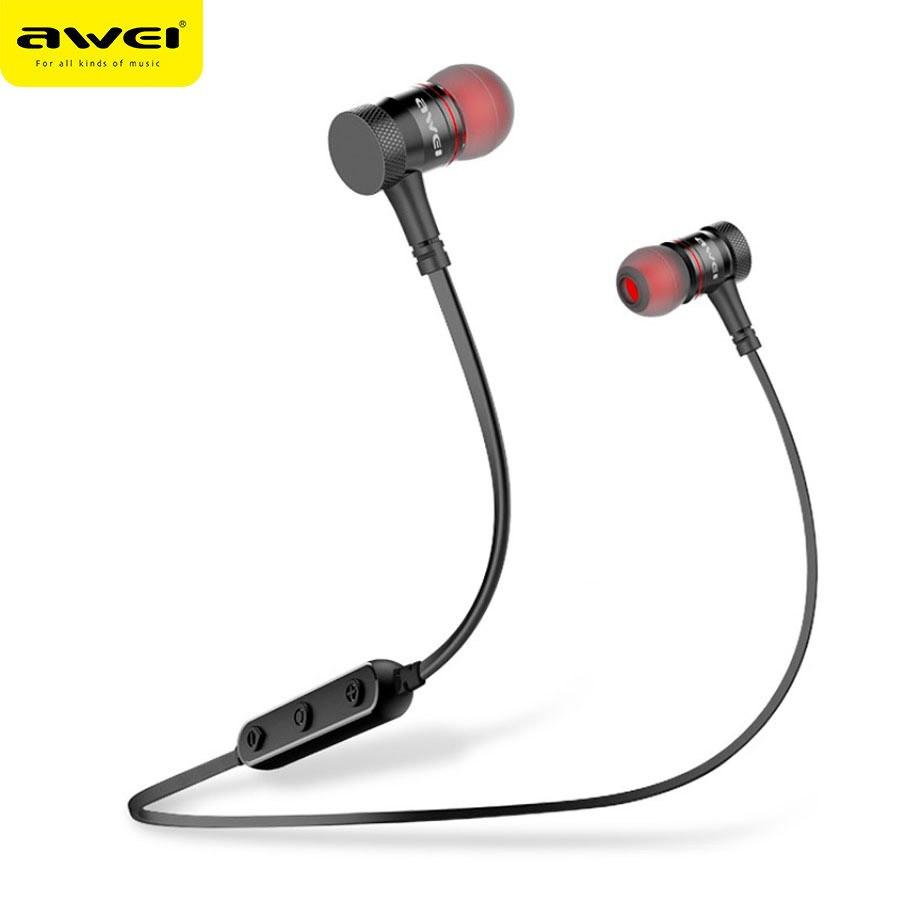 Беспроводные наушники Awei B922 black Bluetooth с микрофоном