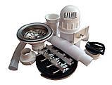 Кухонная мойка (врезная) GALATI FIFIKA 2C SATIN, фото 6