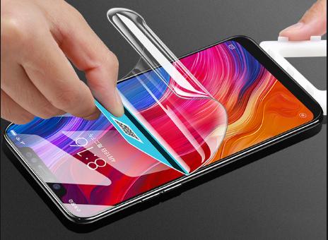 """Защитная полиуретановая пленка для телефона Xiaomi Mi 8 Lite 6.26 """", глянцевая"""