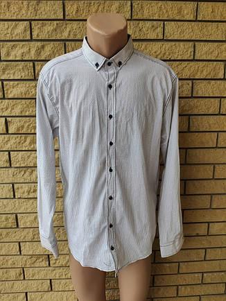 Рубашка мужская коттоновая брендовая высокого качества BOSETTI, Турция, фото 2