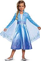 Карнавальный костюм принцессы Эльзы «Холодное Сердце 2 », Disguise Disney Elsa Frozen 2 Deluxe, фото 1