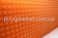 "Акустическая панель ""пирамида ""1,950м* 0.95м , 20 мм оранж, фото 1"