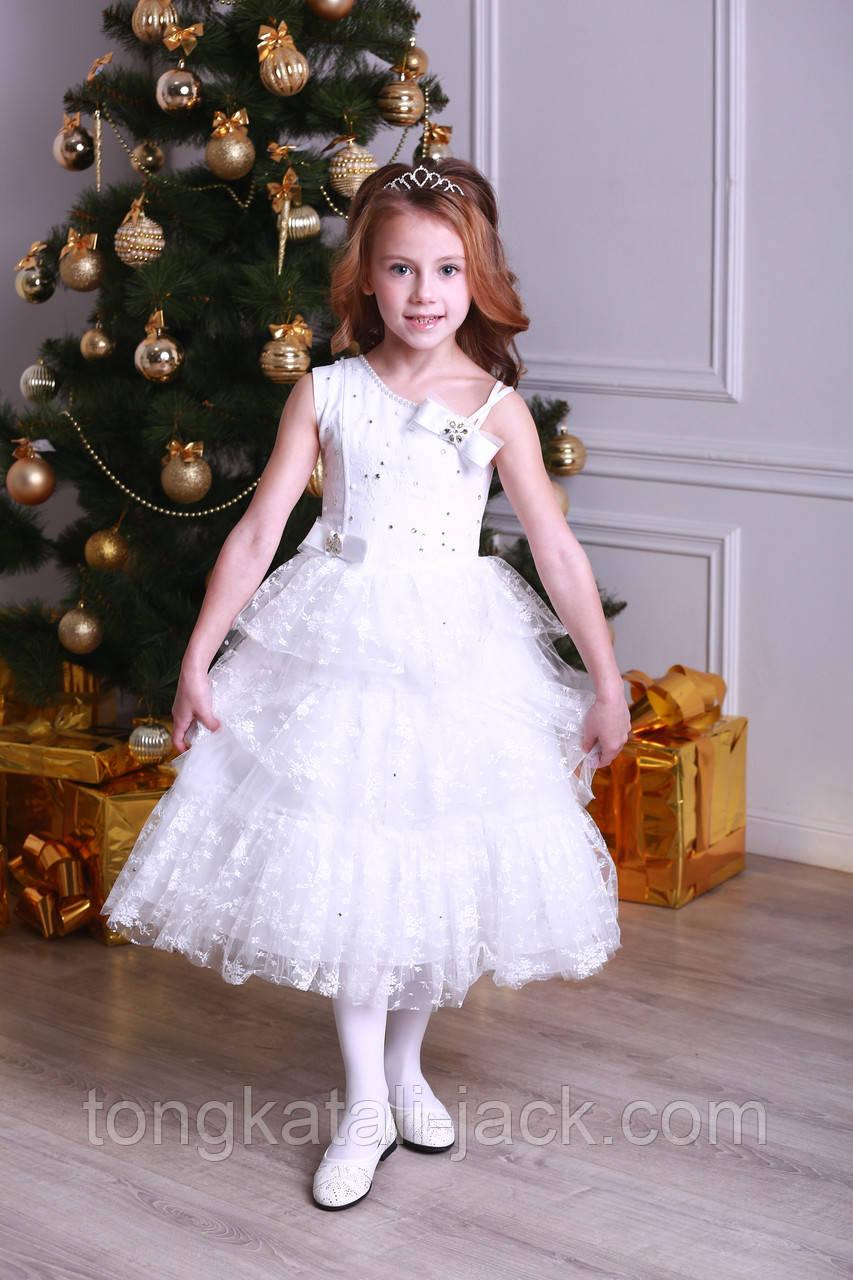 Праздничное платье размер 116-128 см, прокат карнавальной одежды