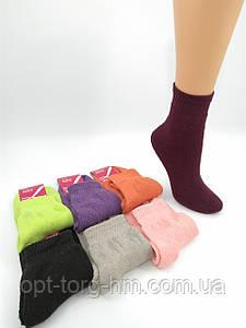 Махровые женские Х/Б носки