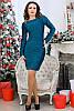 Красивое нарядное платье с люрексом, фото 3