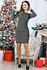 Красивое нарядное платье с люрексом, фото 5