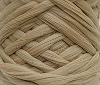 Шерсть для валяния австралийский меринос 23 микрон (10 грамм = 25 см) - натюрель. Фелтинг. Вовна
