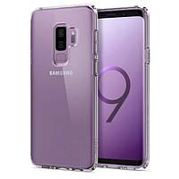 Чехол Spigen для Samsung Galaxy S9 Plus Ultra Hybrid, Crystal Clear (593CS22923), фото 1