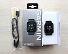 Смарт-годинник Garmin Forerunner 35 Black Чорні з чорним ремінцем, фото 7