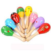 Деревянная игрушка Маракас маленький, развивающие товары для детей.