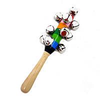 Деревянная игрушка Звонкие бубенчики, развивающие товары для детей.