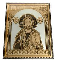 """Изделие из зеркала """"Икона Иисуса Христа"""""""