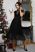 Платье женское черное, фото 1