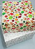 """Коробочка для подарков картонная """"Ёлка"""" 195*195*97, фото 6"""