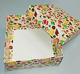 """Коробочка для подарков картонная """"Ёлка"""" 195*195*97, фото 5"""