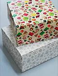 """Коробочка для подарунків картонна """"Ялинка"""" 195*195*97, фото 7"""