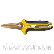 Ножницы STANLEY STHT0-14103, длина режущей части 60 мм, титановое покрытие.
