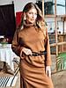 Женское объемное платье (3 цвета)