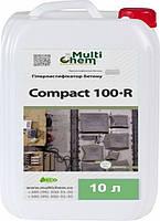 MultiChem. ГіперПластифікатор- протиморозна добавкаCompact-100R, 10 л. .Пластификатор-противоморозная добавка, фото 1