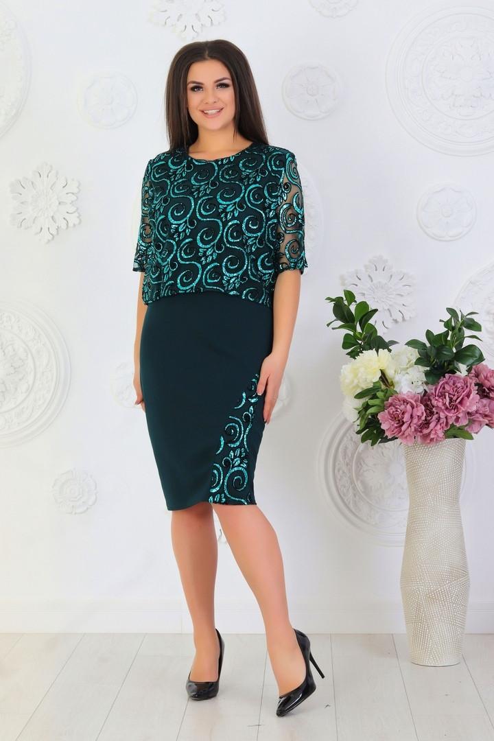 Платье женское 528лл батал