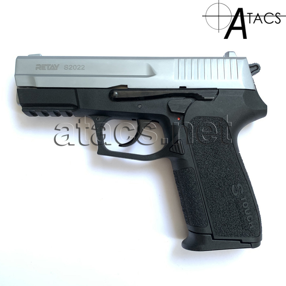 Пистолет стартовый Retay S2022 Chrome