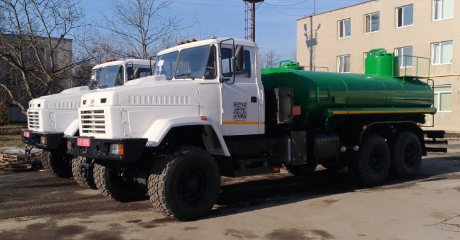 Автоцистерна АЦНГ-11-63221 на шасси КрАЗ