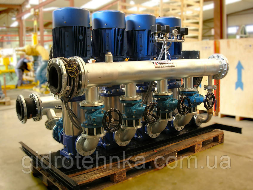 Насосна станцiя пiдвищення тиску Bombas Ideal (Iспанiя)