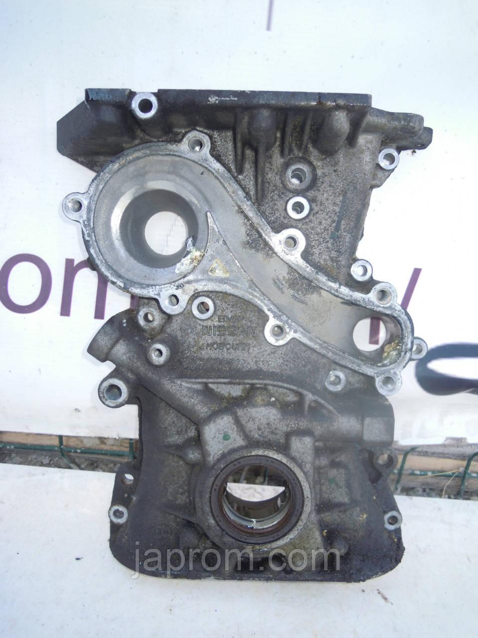 Масляный насос (Крышка) Nissan Almera Classic B10 N16  Primera P11 P12  1.5, 1.6, 1.8 бензин