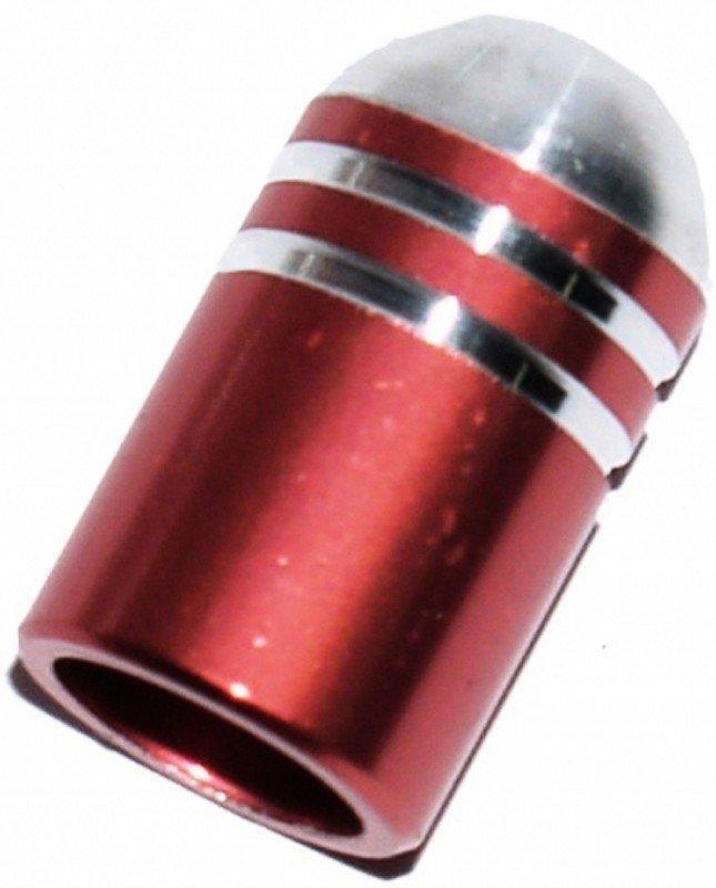 Колпачек для камер X17, алюм. (пуля), AV-тип, розовые