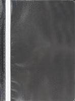 Швидкозшивач пласт. А4, PP, JOBMAX, чорний
