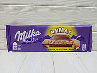 Молочный шоколад Milka Choco s Biscuit 300g (Швейцария)