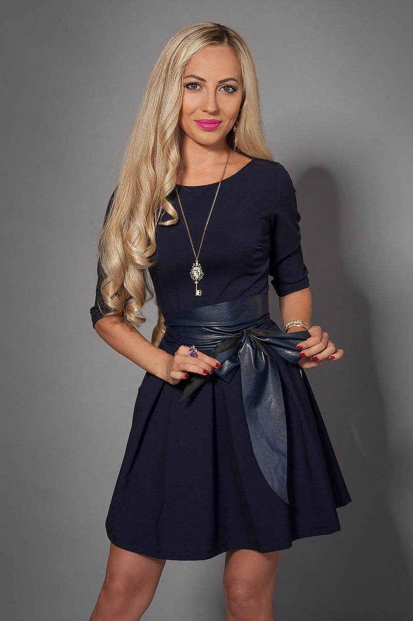 Сукня мод 373-2 розмір 44.46 синє