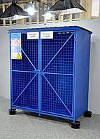 Клеть для хранения баллонов с кислородом