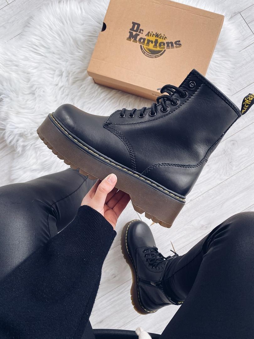 """Женские ботинки Dr.Martens Jadon Platform """"Black"""""""