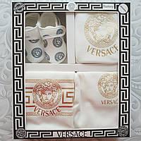 Набор Versace на выписку, в подарочной коробке, 5 предметов
