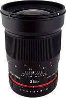 Samyang 35mm f1.4 объектив Canon/Nikon/Sony/Fuji, фото 1