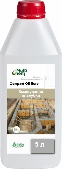 MultiChem.Змащення форм Compact-Oil Euro,5 л. Смазка для  форм/, фото 1