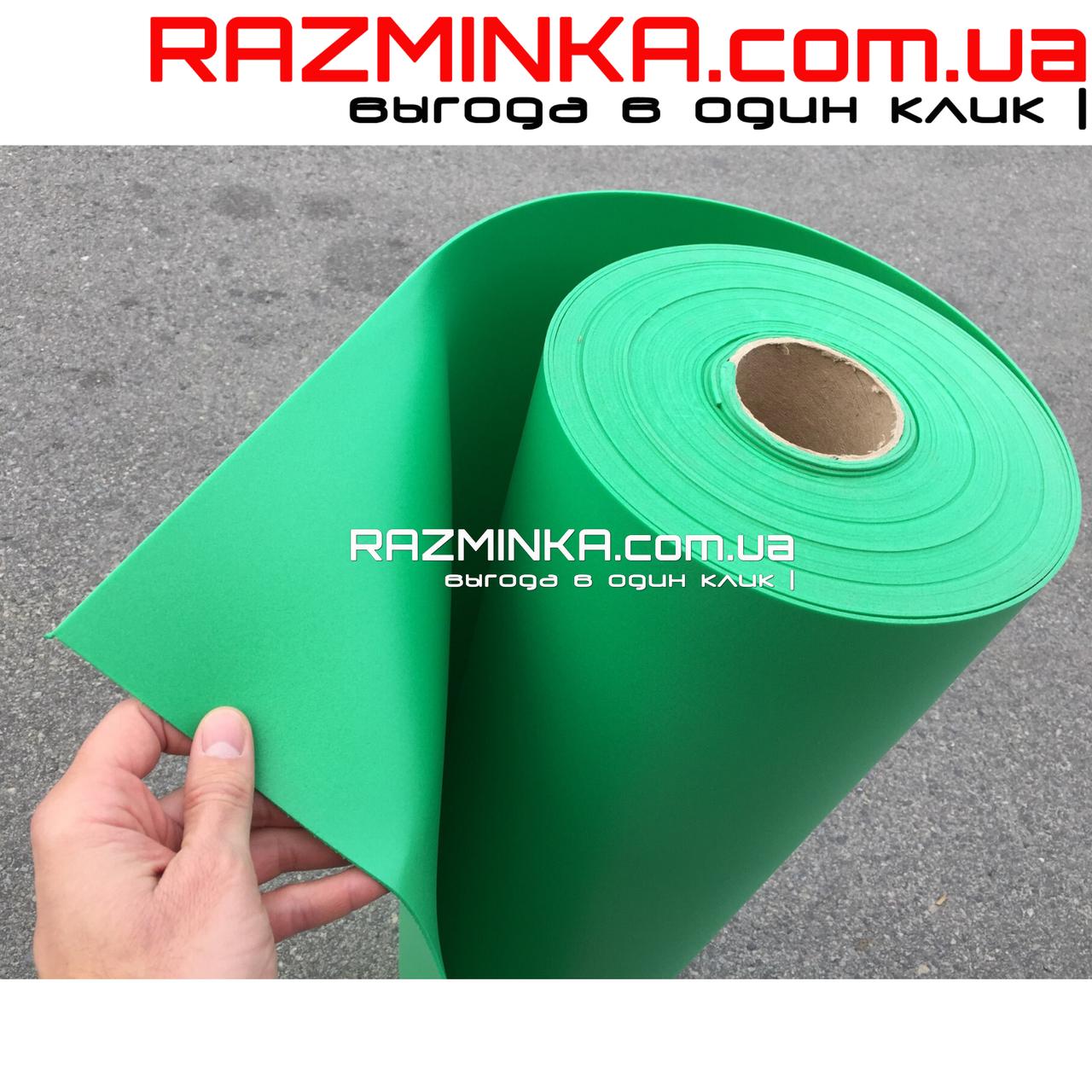 Изолон цветной 2мм, изумруд (ярко-зеленый) 15 кв.м