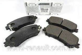 Комплект передних тормозных колодок на Рено Каджар / Renault (Original) 410604EA0A