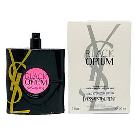 TESTER Yves Saint Laurent Black Opium Gold Attraction Edition женский