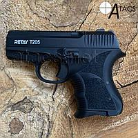 Пистолет стартовый Retay T205 black 8мм